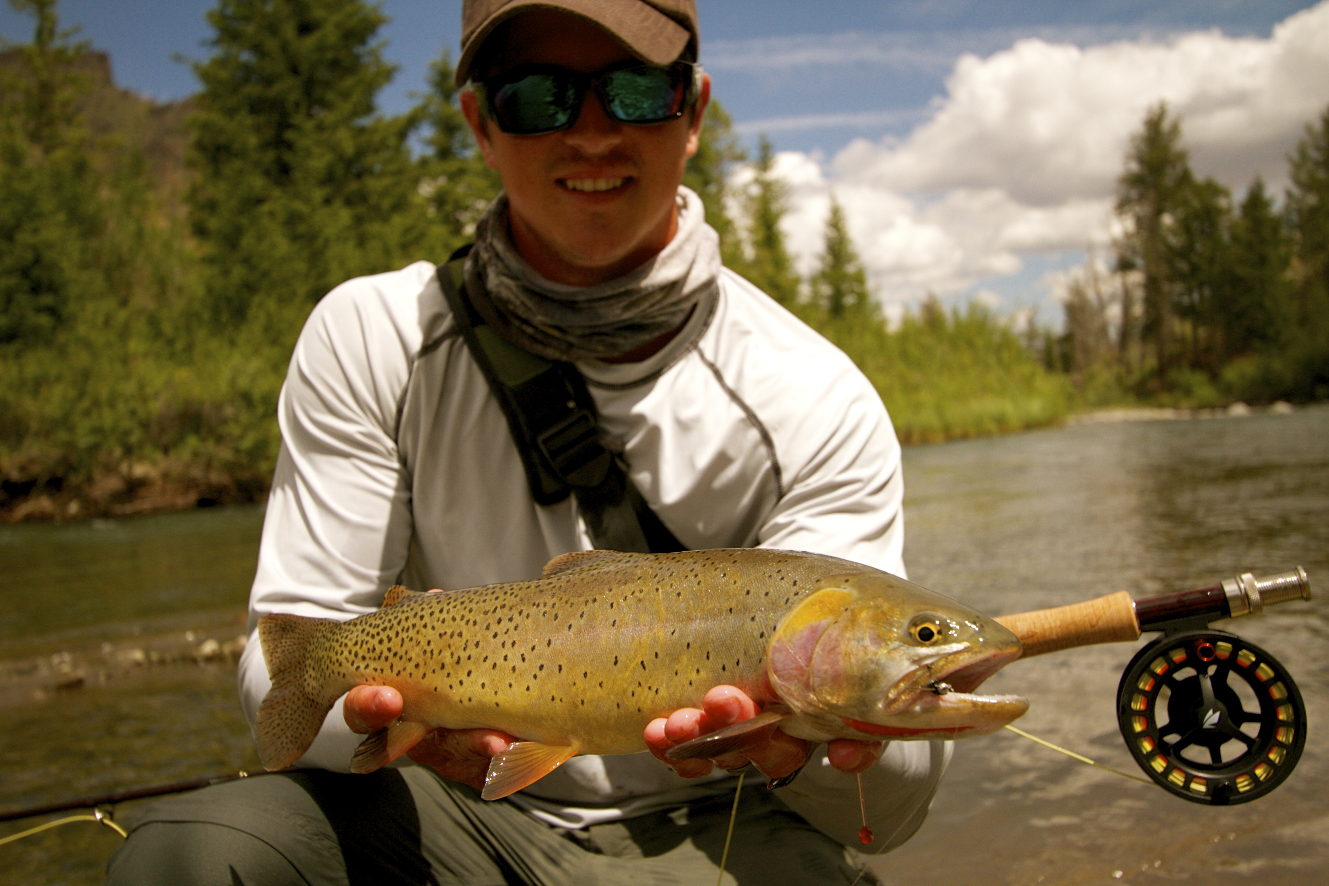 Wyoming backwater fly fishing backwater fly fishing for Cody wyoming fly fishing