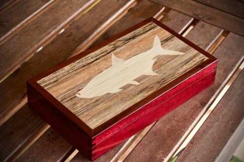 custom wooden fly boxes