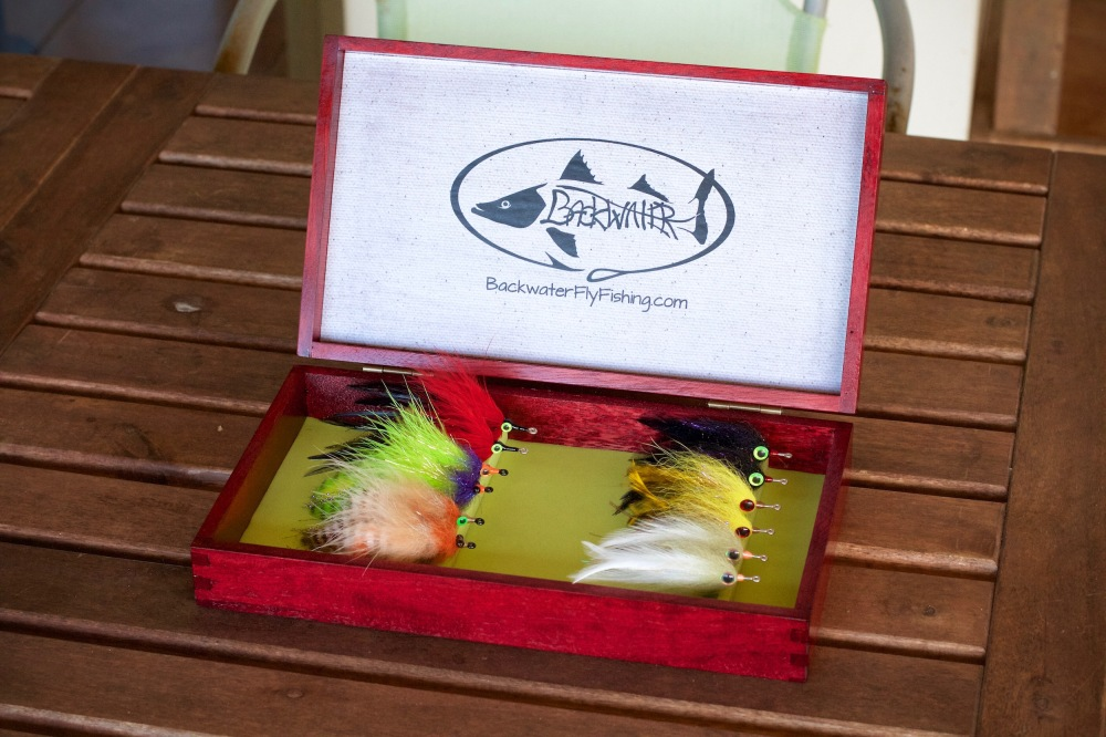 custom wooden fly box