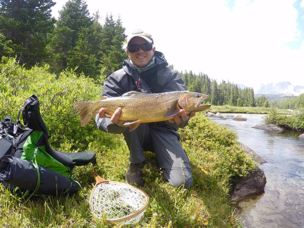 Trip invite wyoming backcountry fly fishing only 4 spots for Wyoming fly fishing