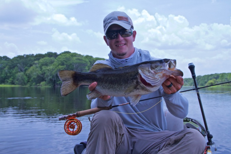 largemouth bass on the fly