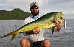 costa rica offshore kayak fishing
