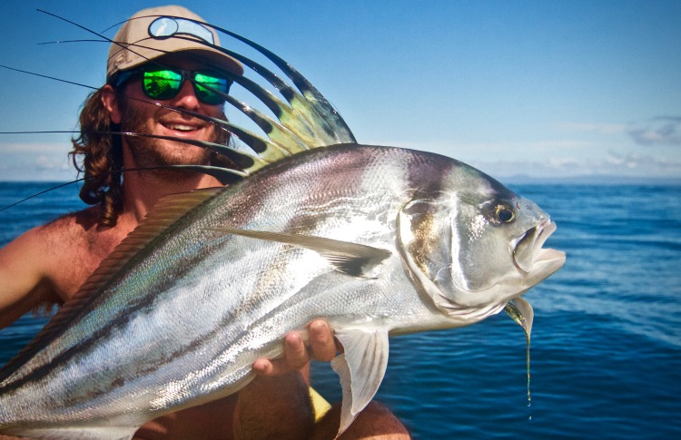 Costa Rican Roosterfish on the Fly