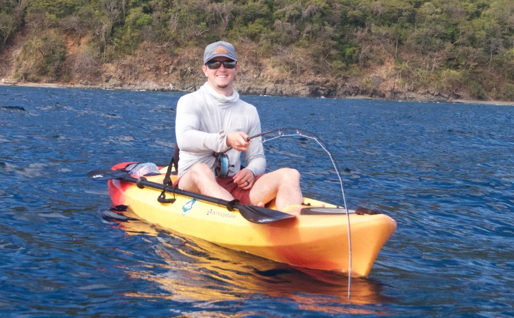 kayak fishing costa rica