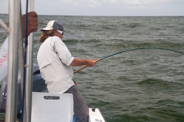 fly fishing tarpon in Costa Rica