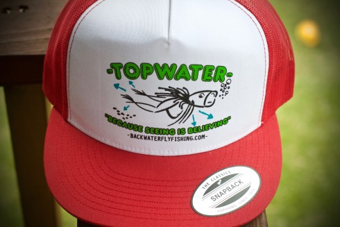 backwater fly fishing
