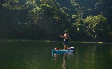 Fishing Laguna Hule Costa Rica
