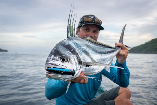 kayak fishing roosterfish costa rica