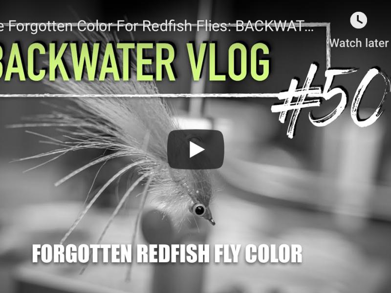 redfish fly pattern